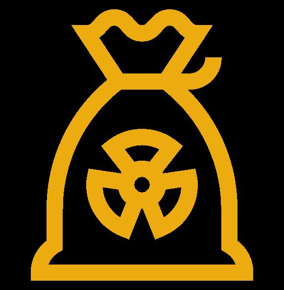 Icono Residuos peligrosos PROSER